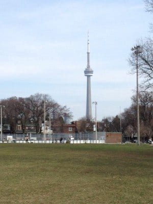 CN Tower Toronto Spring