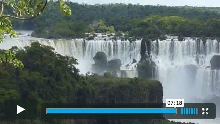 Iqauzu Falls Brazil