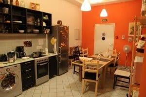 Red House Hostel Kitchen