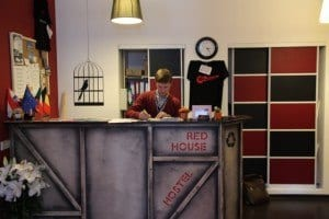 Red House Hostel Lobby