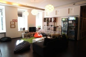 Red House Hostel Lounge