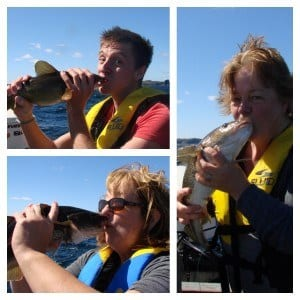 Kissing the Cod