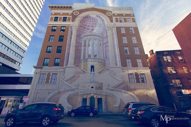 Must see landmarks in cincinnati oh for Cincinnatus mural