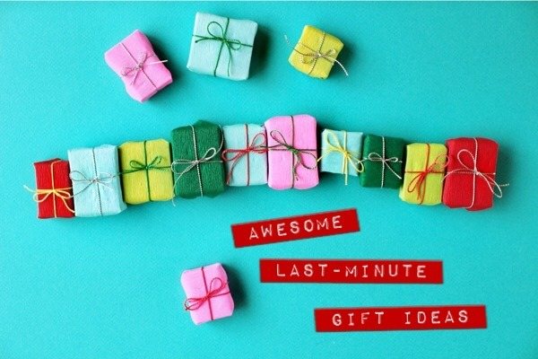 7 Awesome, Unique and Easy Last-Minute Gift Ideas