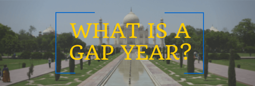 What is a Gap Year Heading