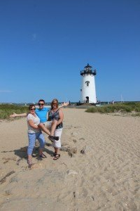 Marthas Vineyard with Mom and Teresa