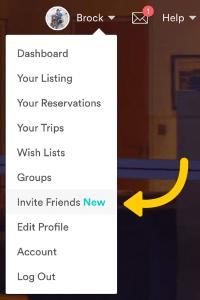 Invite Friends Button