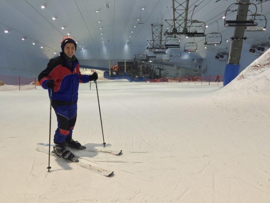 Where do you ski in dubai