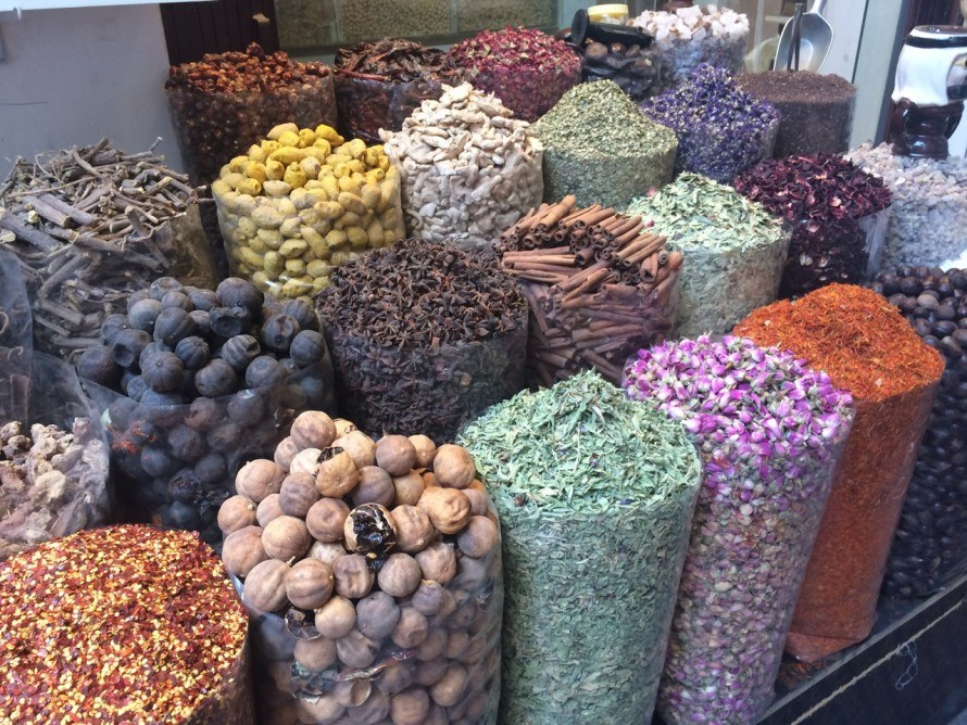 Where is the Spice Souk in Dubai