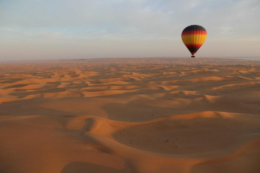 hot air baloon rides in Dubai