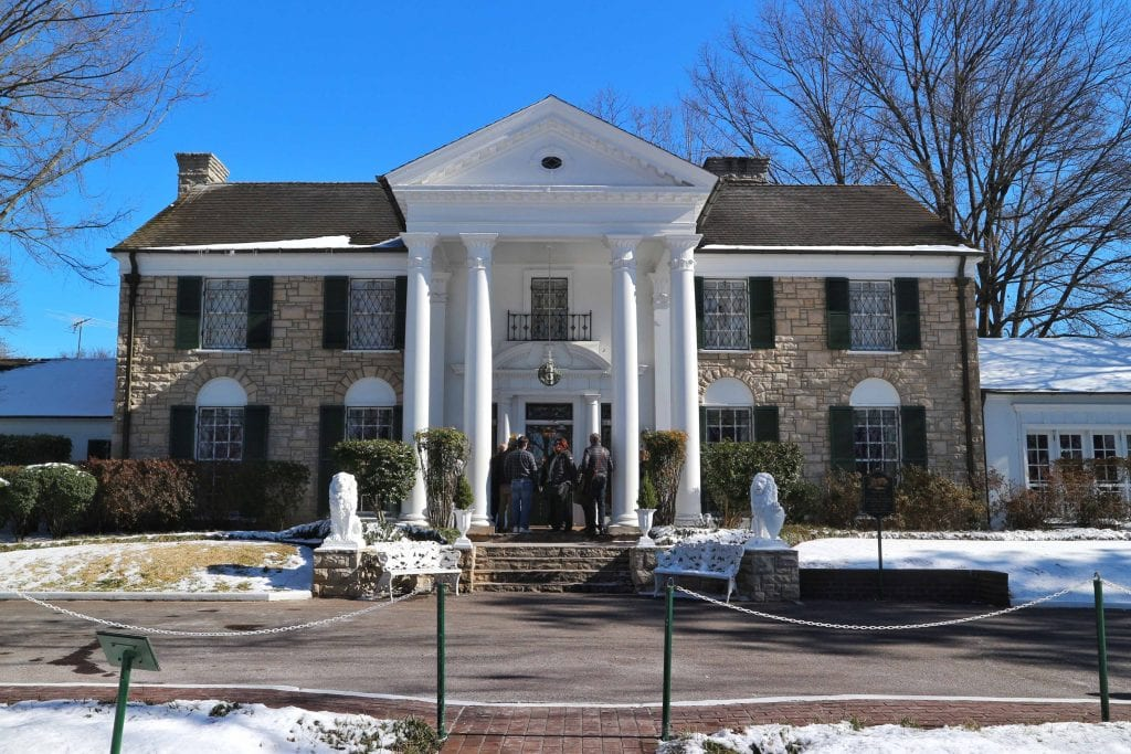 Graceland in Memphis Tennessee