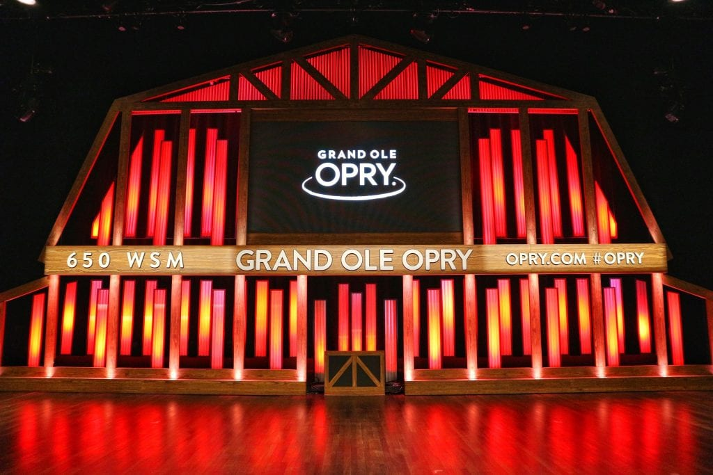 The Grand Ole Opry Stage in a must when spending 2 days in Nashville